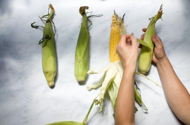 corn on the cob, Greek street food