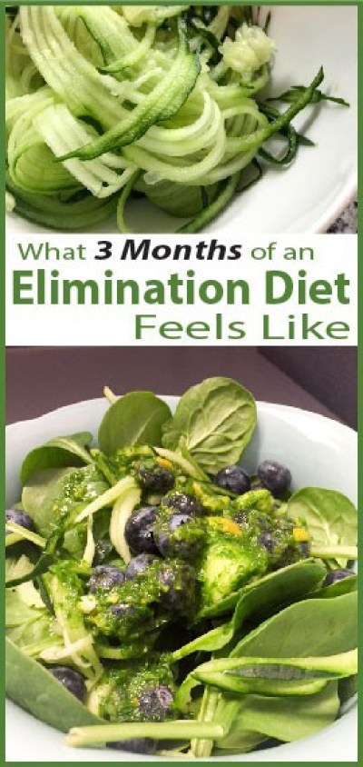 3 months of an Elimination Cleanse