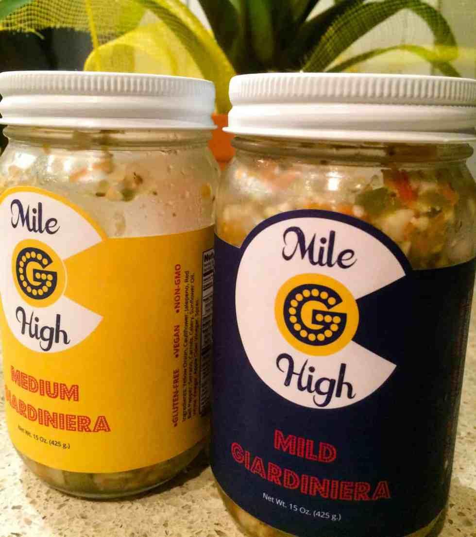 Super Easy Giardiniera and Meatballs on Spaghetti Squash Recipe - gluten free, dairy free, grain free and delicious using Mile High Giardiniera