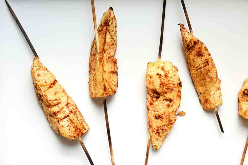 A healthy paleo BBQ option, this grilled pineapple skewers with cinnamon recipe has two ingredients: pineapple and cinnamon. Bring simple back to the backyard BBQ.