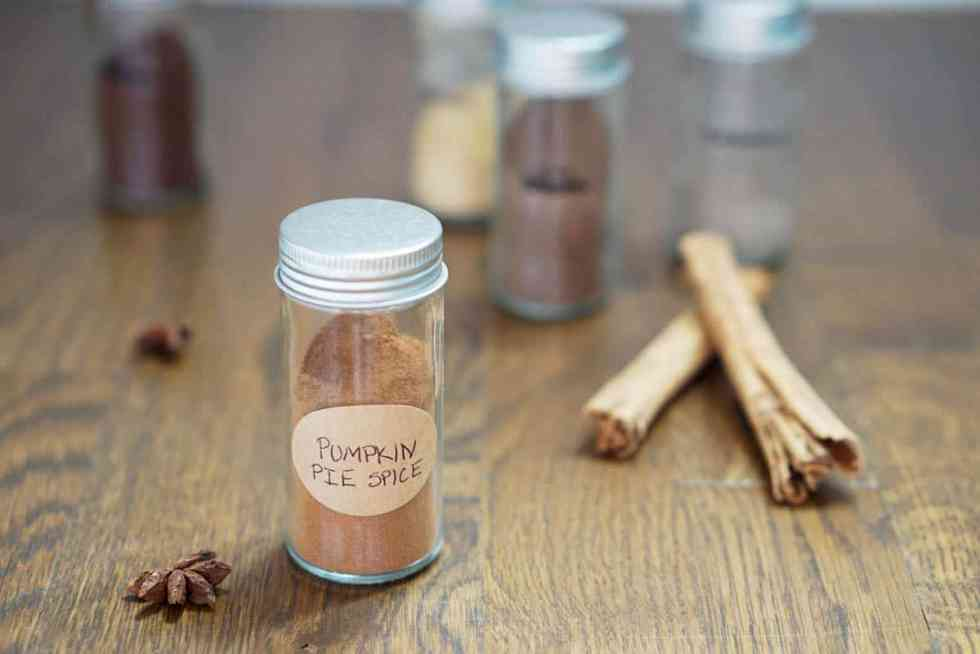 Looking for a little holiday spice from home? This pumpkin spice mix is perfect for coffees, cakes, and even butternut squash. Easy to mix at home and with a little extra spice.