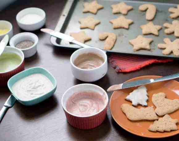 2 ingredient blender frosting for cut out cookies