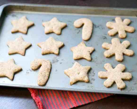 Grandma's gluten free cut out cookie – now dairy and refined sugar free