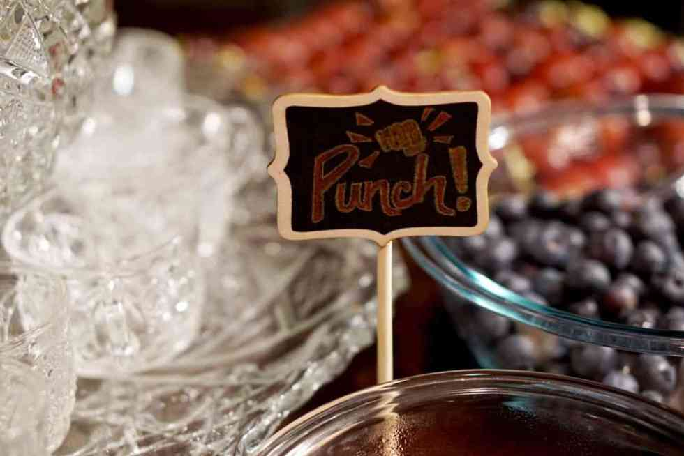 Punch: key ingredient to a killer NYE party: Indoor S'Mores, Chili Bar, Meatballs, Hummus Cukes, Champagne punch and more! Find a healthy and comforting menu for your lumberjack New Years Eve Party