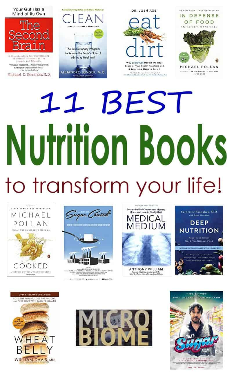 On a journey to improve your health by eating better? Start by reading these 11 best nutrition books.#nutrition #health #book
