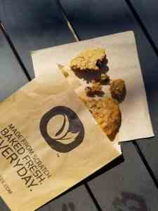 Delicious cardamom spiced cookie that's Gluten Free from Lofty Coffee - a coffee shop and restaurant in north county San Diego