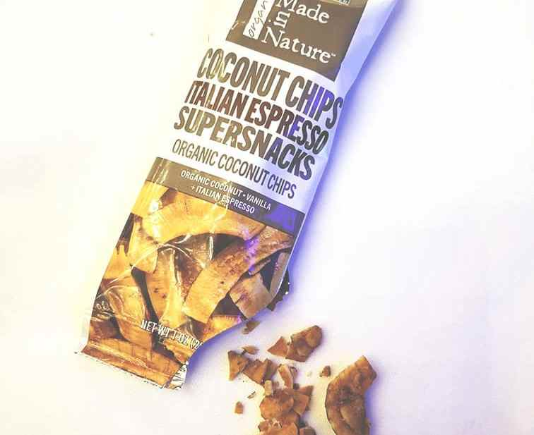 Made in Nature Coconut Chips - a favorite go-to healthy snack