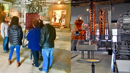 Discovery Well To Distillery Tour @ Turner Valley Gas Plant | Turner Valley | Alberta | Canada