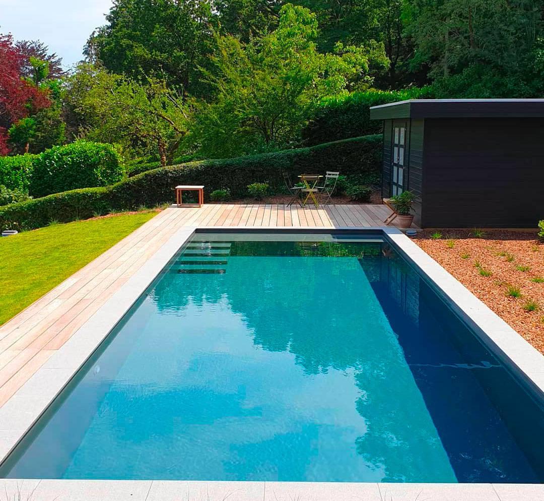 prix d une piscine creusee eau libre
