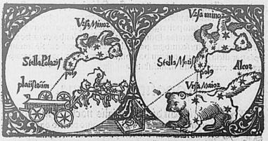Petite et Grande Ourse XVIe siècle