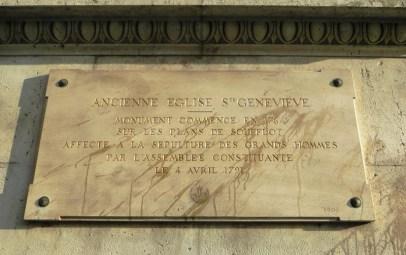 plaque-pantheon