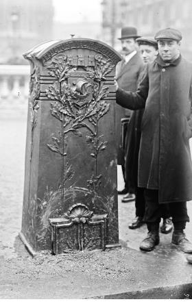 Sablière en 1911 (Archive BNF)