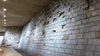 Mur extérieur du château