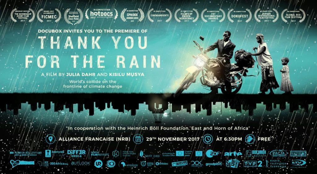 Thank You For The Rain Eayuma