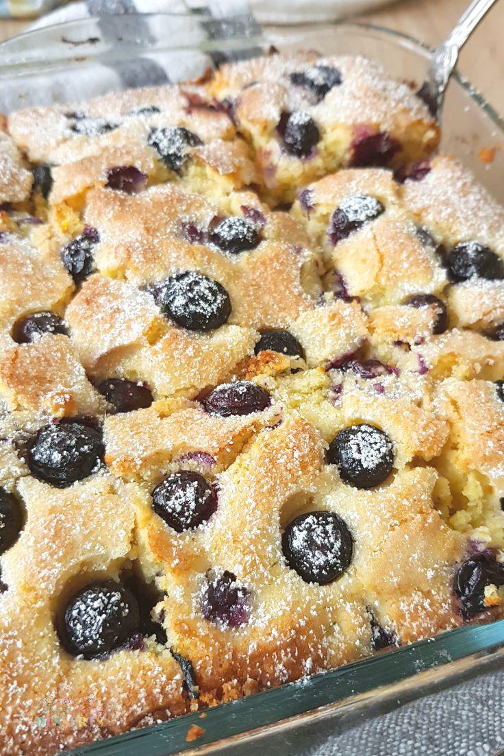 Blueberry breakfast casserole