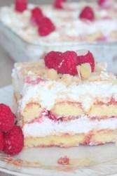 Raspberry tiramisu recipe