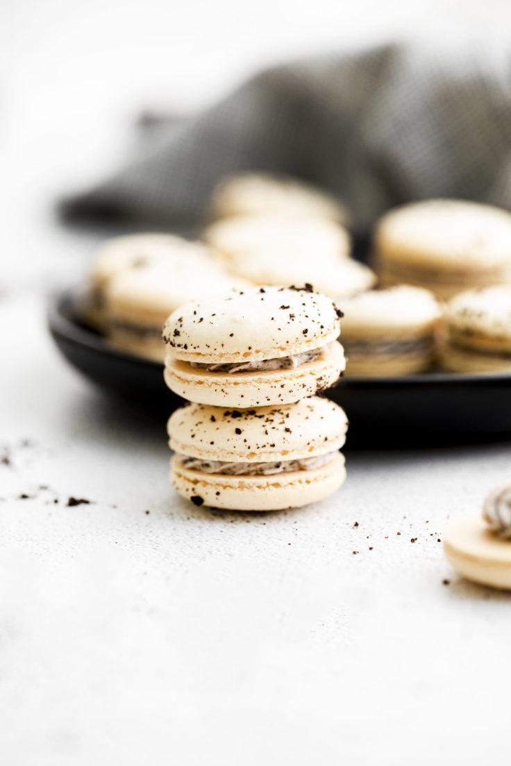 Oreo macaron recipe