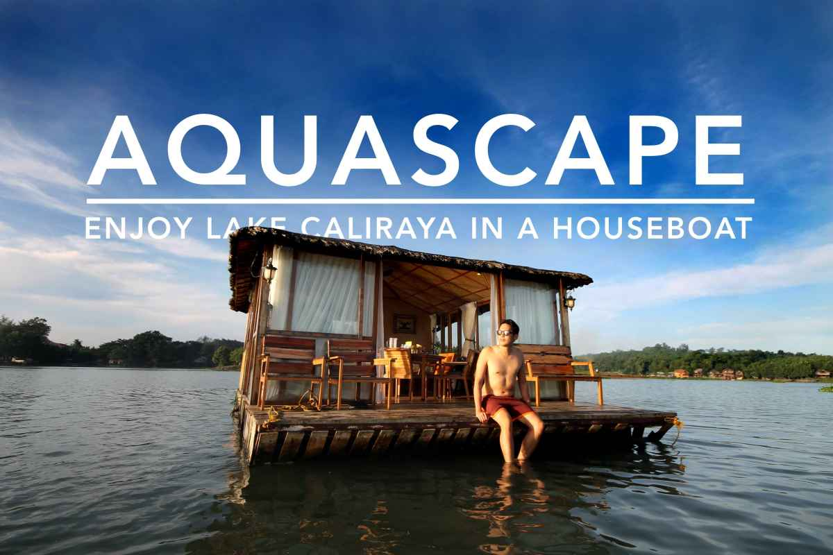 Aquascape: Cruise Around Lake Caliraya in a Cozy Floating Cottage (Houseboat)