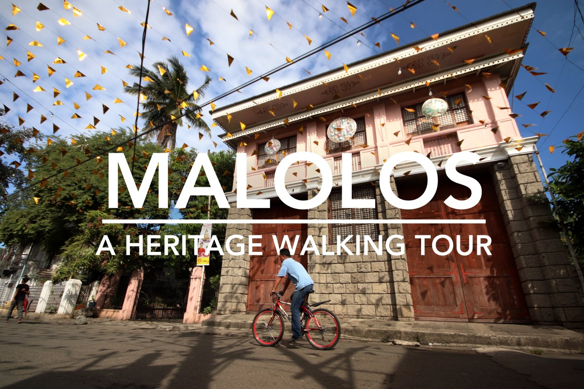 A Heritage Walking Tour of Malolos Historic Town Center