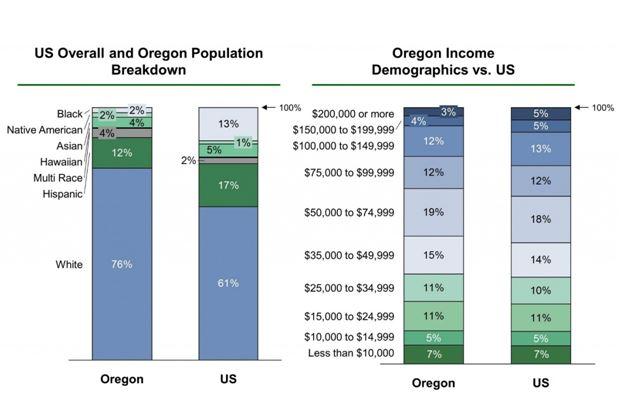 Boston's population break down and income demographics