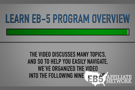 Watch EB5 Affiliate Network's Learn EB-5 Program Overview Video on the EB5 Affiliate Network YouTube channel.