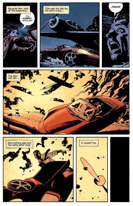 Fatale Book One Death Chases Me interior 2