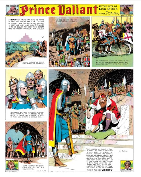 Prince Valiant Vol 2 1939-1940 interior 2