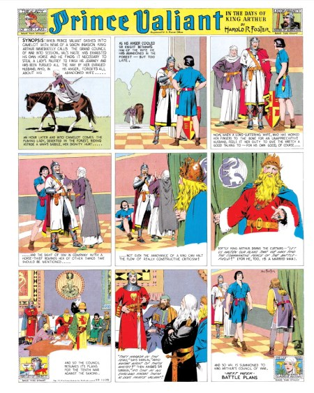Prince Valiant Vol 2 1939-1940 interior 3
