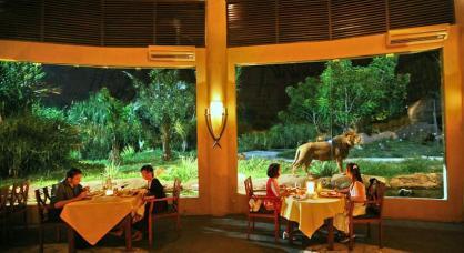 Mara river safari lodge獅子餐廳