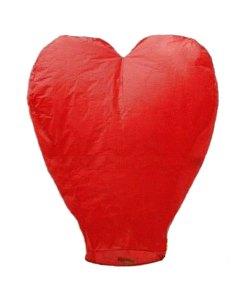 Lampioane zburatoare inima