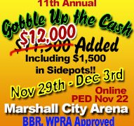 2019 Gobble Up the Cash – Marshall