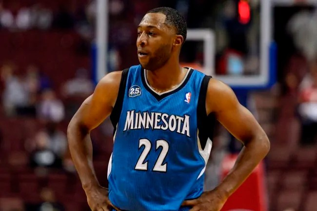 Oct 23, 2013; Philadelphia, PA, USA; Minnesota Timberwolves guard A.J. Price (22) during the fourth quarter against the Philadelphia 76ers at Wells Fargo Center. The Timberwolves defeated the Sixers 125-102. Mandatory Credit: Howard Smith-USA TODAY Sports