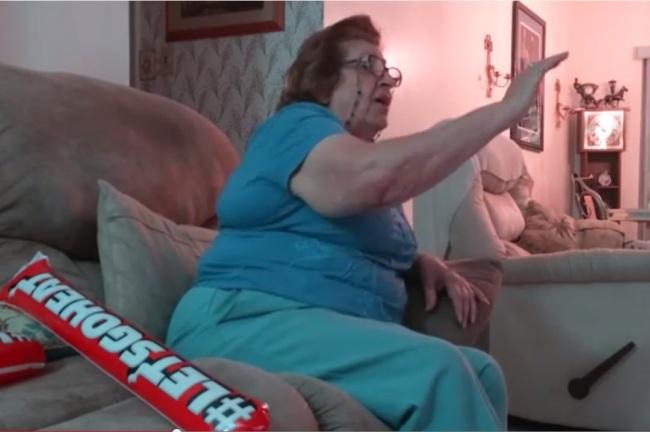 heat fan grandma