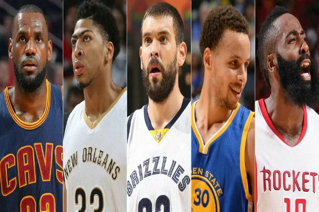 all nba first team 2014-15