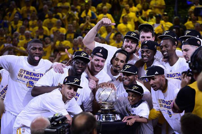 warriors-west champions