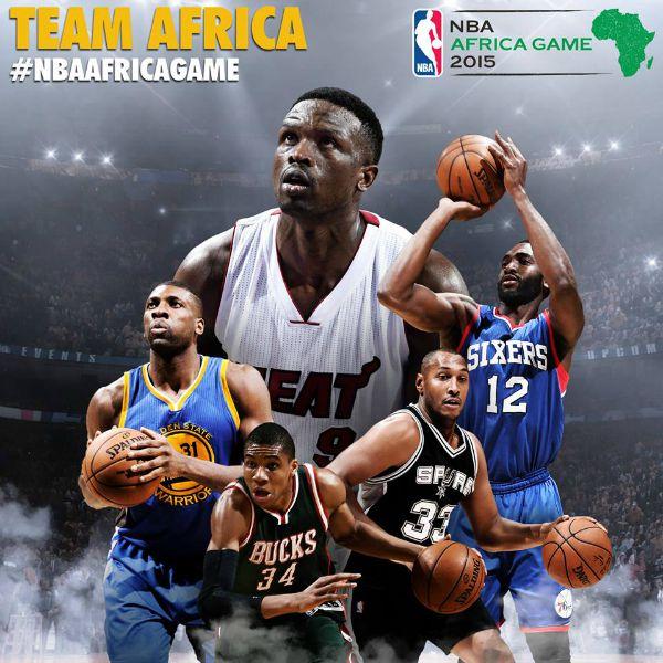 team africa-nba