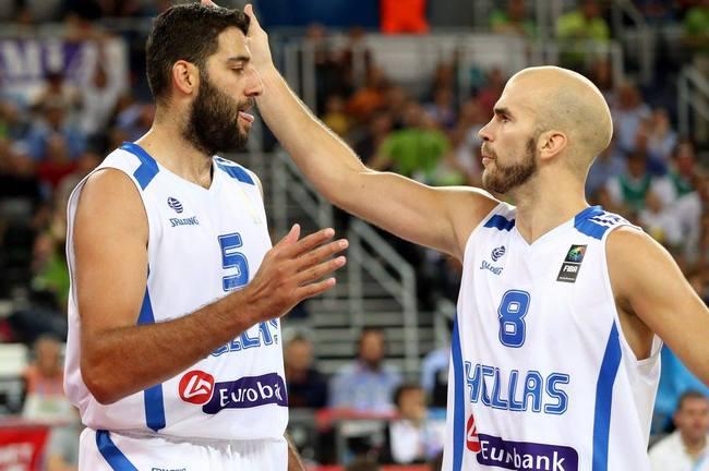 Giannis Mpourousis-Bourousis-Nick Calathes-Calathis-Kalathes-Kalathis-Eurobasket-Greece-Hellas