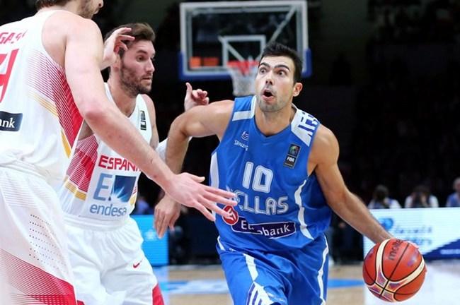 Kostas Sloukas-Eurobasket-Greece-Hellas-Spain-Ispania