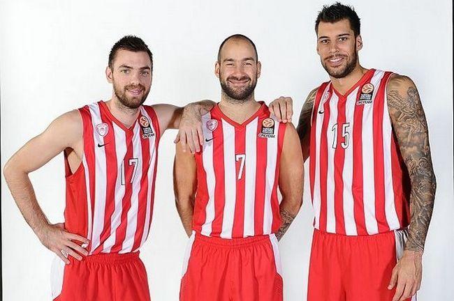 Spanoulis-Printezis-Mantzaris-Olympiacos