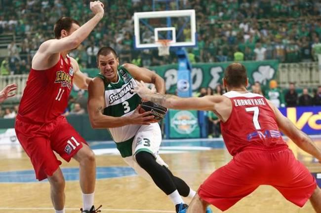 Milutinov-Pavlovic-Spanoulis-Panathinaikos-Olympiacos