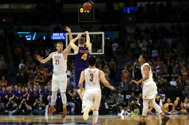 jesperson-northern iowa-texas-march madness-buzzer beater