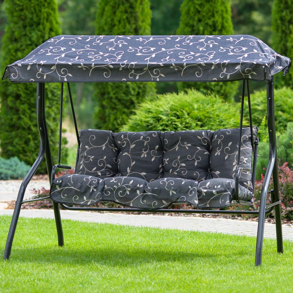 details sur set de coussins et toit pour balancelle luna kate g001 07pb patio