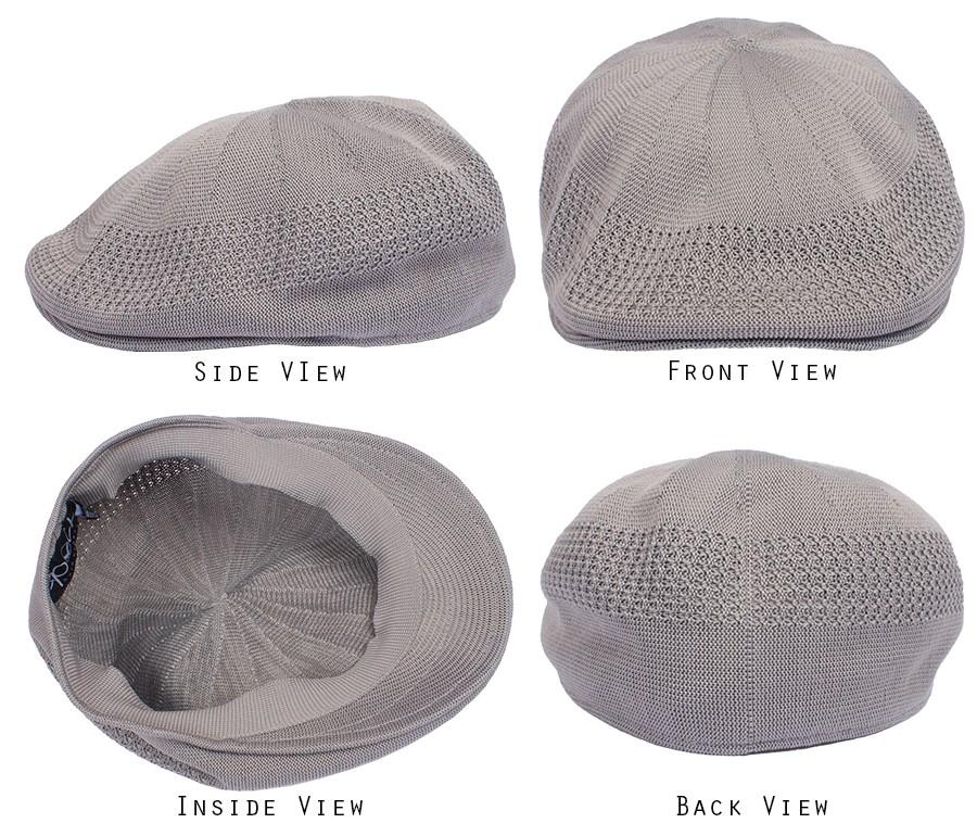 ce96d4530a8 Cool Mesh Summer Ivy Flat Hat Cap