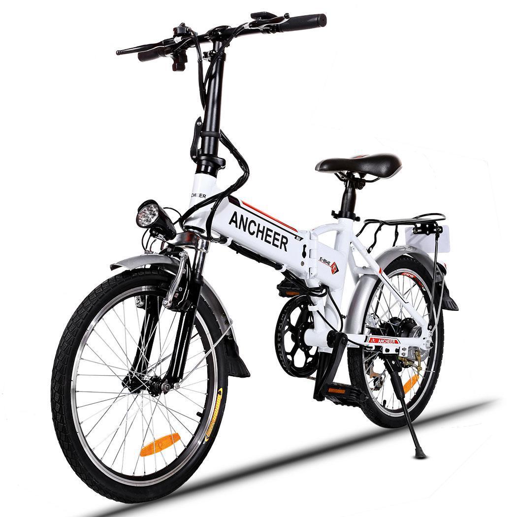 250w Aluminum Folding Electric Mountain Bike Bicycle E
