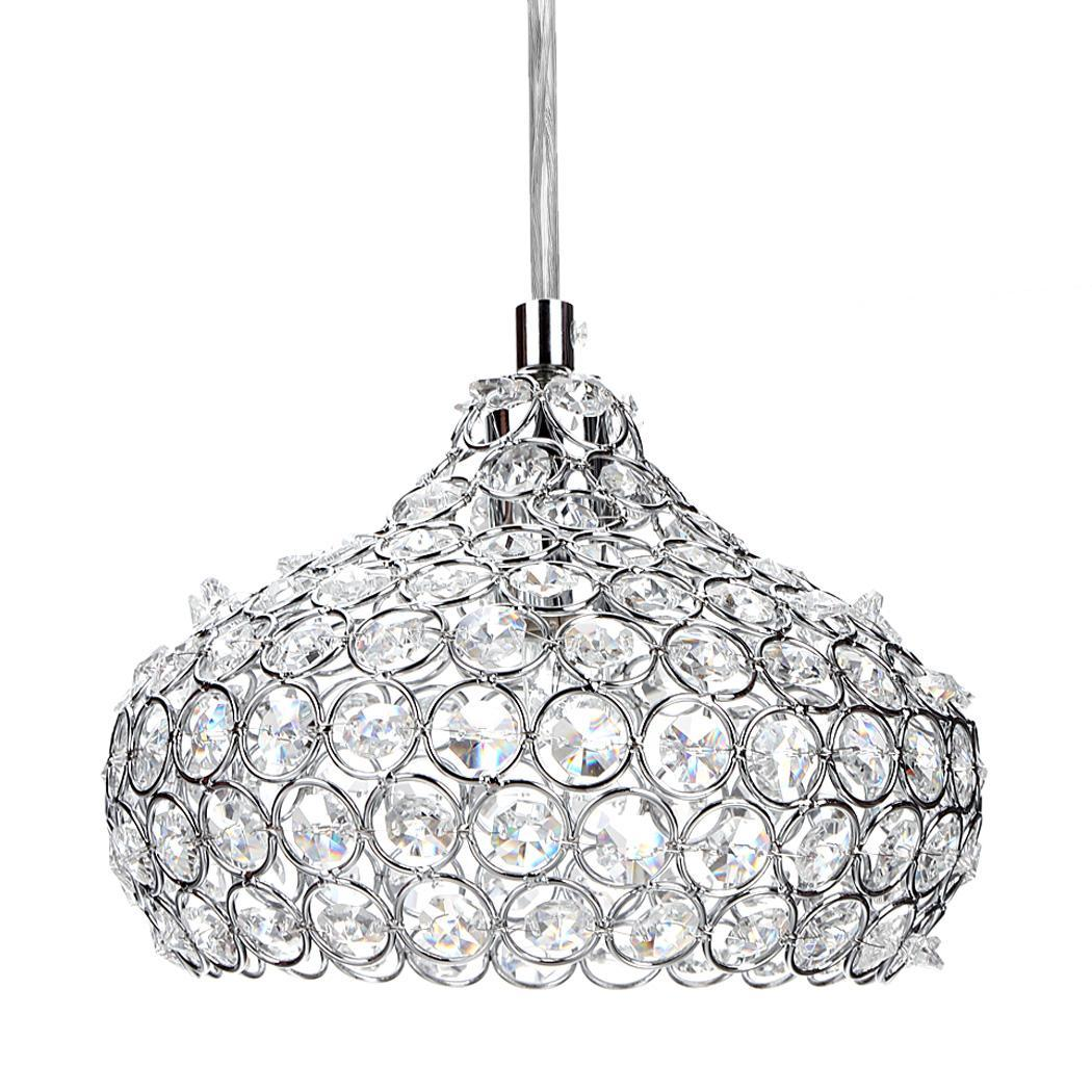 Crystal 1 Wine Glass Bar Chandelier Ceiling Light Pendant