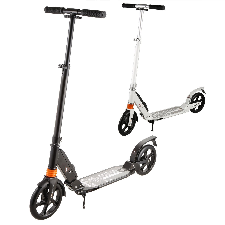 Erwachsene Faltbar 3 Ebenen 2 Rad Kick Scooter Tretroller