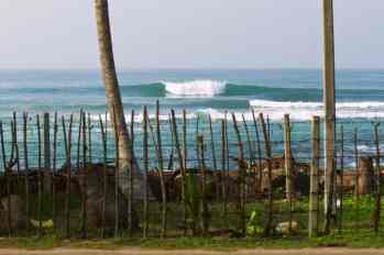 Rams Right surf break Midigama. On your Doorstep