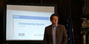 presentation of entrepreneurship program - third EBBD conference in Vienna
