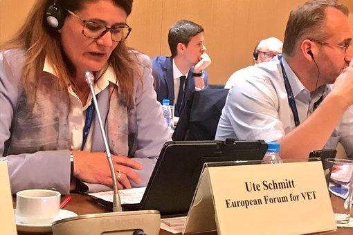 EBBD e.V. secretary presenting EBBD at the European Conference in Sofia 2018