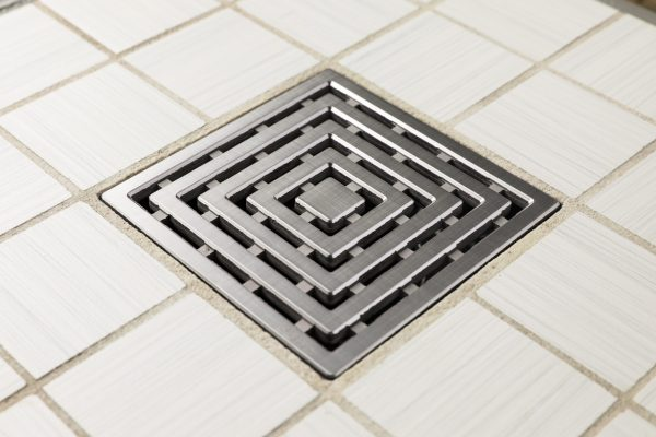 E4815-BS - Ebbe UNIQUE Drain Cover - FRAMES - Brushed Stainless Steel - Shower Drain - ad